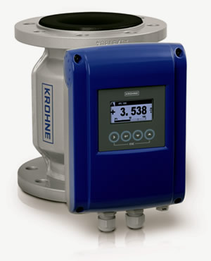 Krohne Optiflux 2000 flow meter